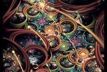KALEIDOSCOPE / Imaginatia artistului este efervescenta in cazul acestui model de tapet ce imita straturile rocilor erodate de cursul apelor de-a lungul timpului. Vei indragi acest tapet indraznet in ambientul tau.