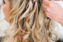 inspirasjon bryllup hår