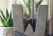 Concrete Crafts! / by Taryn Stuit