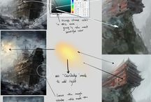 DIGITAL ART 101 / all about tutorials & inspirations / by Alfie Bocabel