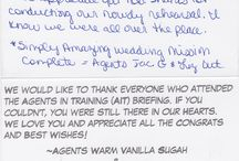 Love Notes / Click each photo to see what the couple had to say about working with us. Check out our website to see even more reviews and professional endorsements.