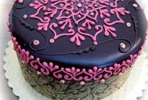 henna cupcake