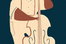 Illustrazioni jazz