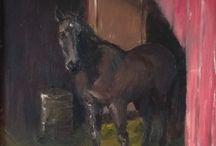 Horse Paintings / My equine art. Copyright Erika Reponen