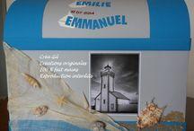 """Urne mariage """"coffre de la mer"""" / Urne de mariage"""