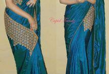 modern sarees