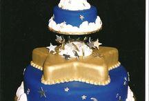 Space, Moon, Sun & Star Cakes