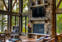 Mountain Home Decor Ideas / Decorate your mountain getaway with these ideas and designs for the kitchen and beyond.