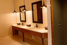 Office restroom design / commercial restroom
