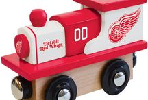 NHL Wood Toy Trains / Shop our stores collection of NHL Hockey themed Wooden Toy Trains. Teams available include Boston Bruins, Pittsburgh Penguin, Chicago Blackhawks and more. Buy more and save on shipping.
