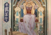 Art Nouveau / The Art Nouveau period (roughly 1880-1910 in my view) provided the world with some great and lasting masterpieces in all areas of art and design.