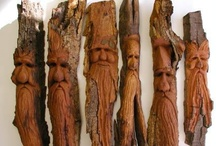 wood carving / by Pat Kandel-Simpson