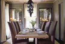 shabby dining room