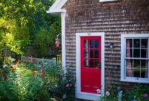 "The Cottage / From Allison Moir-Smith of Emotionally Engaged, counseling brides since 2002. ""Come have a session with me in my cozy cottage If you're in the Boston area....or, fly in for a weekend of intensive sessions.   I'm located 45-minutes north of Boston in Manchester-by-the-Sea, on Cape Ann."" -Photos by Dawn Greene, Style Studio Photography"