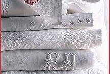 Carpets and fabrics.