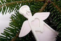 Concrete Christmas Ornaments / Concrete Christmas Ornaments