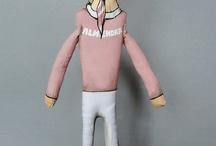 MEDIODESCOCIDO / Musicos / Art dolls basados en personajes de la música.  / by Uriel Valentin