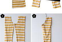 šití ze starého oblečení