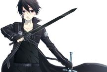 with sword