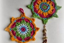 Crochet and Knitted Decorations etc