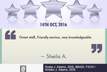 Happy Patients; 5 Star Reviews