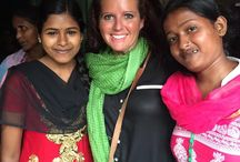 India November 2016 / Buy The Change visiting our wonderful women in India who hand stitch all of our Kantha blankets, throws and napkins. It's beautiful to see the women you help support with ever item you buy!  #shopforacause #empoweringwomen #kantha