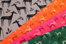 Lobitos fabrics / Stoffe mit Windhundmotiven Fabrics with sighthound design