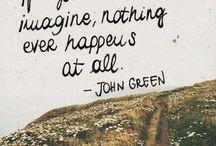 John Green- TFIOS- Paper Towns