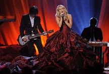 Carrie Underwood's Dresses! <3 / This is all of Carrie Underwood's ah-mazing and beautiful dresses she wears.  / by Abby Kerbo
