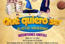 Ya tienes programa para tus hijos en estas vacaciones?