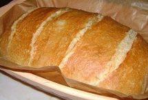 kenyér és sós sütemények