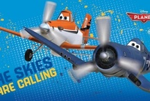 DISNEY PLANES / Disney's new Planes movie promises excitement in the style of the Disney Pixar franchise, Cars. If you love Disney animated movies and airplanes, get ready for the flight of your life! / by Treasures By Brenda