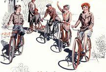 The Bicycle as Art / Classic images of bicycles