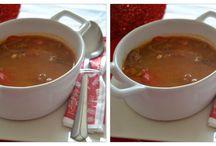 Sopas, caldos, cremas,  Soups, Suppen, 湯, levesek....... / Que rico, y con este frió, no hay nada mas apetecible que un buen caldo, o una buena sopa.....