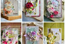 cards - shabby chic and more