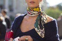 Adorned in scarves
