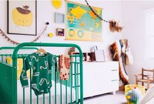 Stylish Nursery Decor and Ideas / Stylish nursery ideas and nursery decor for your little one. / by Everything Begins