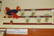 Iskolai dekoráció tanuláshoz