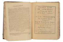 Manuscrits et partitions anciennes