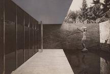 Modernism / Architecture, interior,  spaces