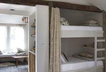 Build-in bunk beds