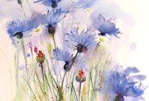 Flori pictate