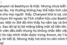 Fact about ChanBaek