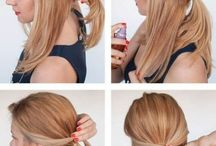 Long hair arrange