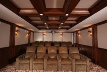 Media Rooms / A collection of new and renovated media oriented rooms