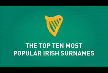 The Top Ten Most Popular Irish Surnames / Ireland has a population of over 6 million but due to the Irish diaspora there is over 80million people worldwide who claim to have Irish roots. Out of all these Irish men and women what is the most popular surname? Painted Clans has put together a list of the top ten most popular Irish surnames. Check out the video to see if your surname made the list.