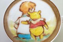 Gâteau, café etc a l'image de Disney , Mangas etc ^^