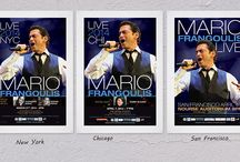 Mario Frangoulis / Some posters made for Mario Frangoulis
