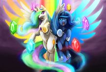 Luna and clestia