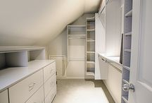 Attic closets / Ideas of how to do with our attic